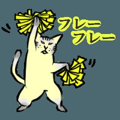 【白目アニマルシリーズ】白目ねこ