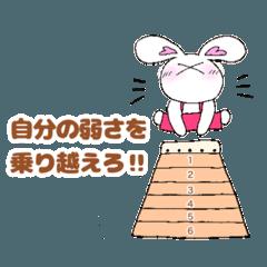 癒し系うさぎさん☆応援