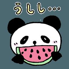 二頭身パンダのこれが全力~夏編~